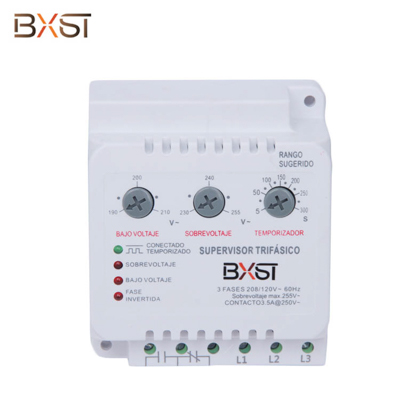 BX-V086  Ground Wiring 6-Line 3.5A Surge Voltage Protector with Adjustable Low and High Voltage