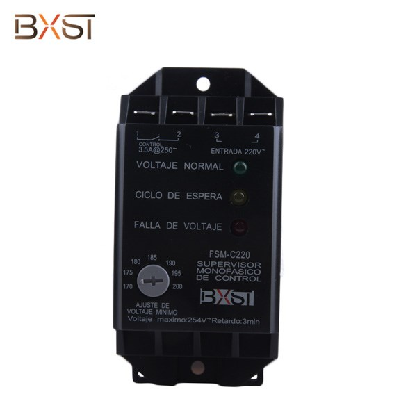 BX-V121 No Ground Wiring 2-Line 3.5A Voltage Surge Protector With Adjustable Low Voltage
