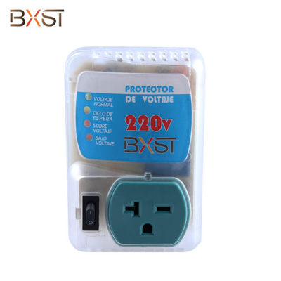BX-V010-220V USA 6-20 Plug 220V Voltage Protector with On-Off Switch and Adjustable Low Voltage