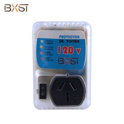 BX-V010-CS-15 Chinese Socket UAS Plug 15A Voltage Protector for Air Condition Refrigerator