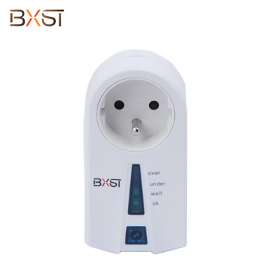BX-V048-F French Socket 220V 15A Voltage Surge Protector with Quick-start Button