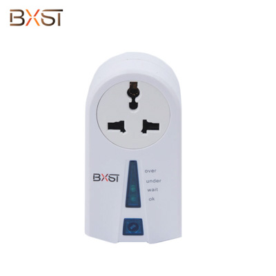 BX-V048-SA South Africa Plug General Socket Voltage Protector with Quick-start Button