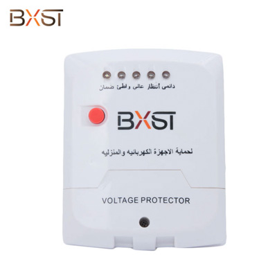 BX-V033 Ground Wiring Middle East Home Electrical Voltage Protector with Adjustable Delay Time