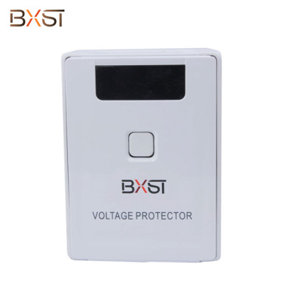 BX-V058 Ground Wire Global Voltage Protector with LED and Delay Time Switch Button for Home