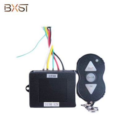 BX-W019 Automatic Anti-interference Electric 12V 24V Smart Home Winch Wireless Remote Control