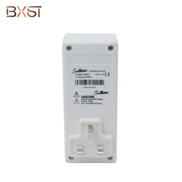 BX-V102-F-L UK Plug Surge Voltage Protector for freezers refrigerator