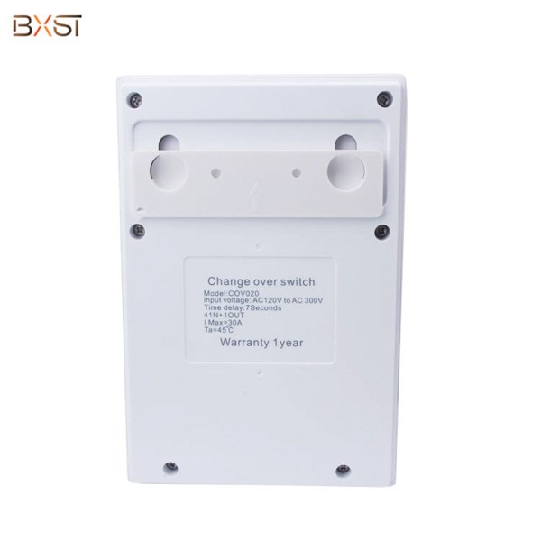BX-COV020 Single Phase 4 Way 30A Automatic Transfer Change Over Switch for Solar System and Inverter