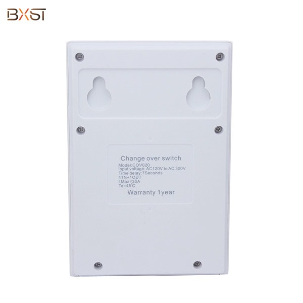 BX-COV020-D Single Phase Four Way 30A Automatic Transfer Change Over Switch with LED Display