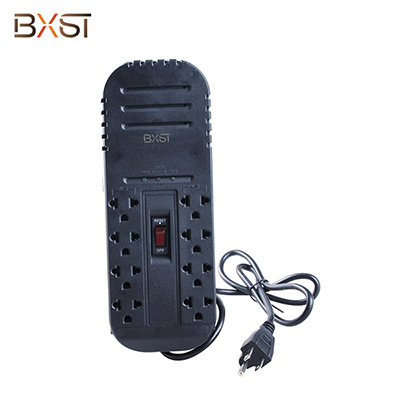 BX-AVR02-400W General Socket Single Phase Portable Voltage Regulator Socket with On-Off Switch