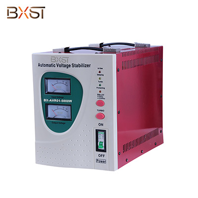 BX-AVRO1-5000W  5000W Single Phase Automatic Voltage Regulator Stabilizer with On-Off Switch and Led