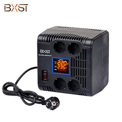 BX-AVR04-500W-G German Standard LED Indicators Automatic Voltage Regulator Stabilizer with On-Off Switch