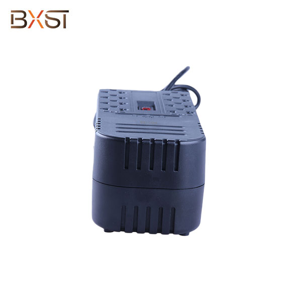 BX-AVR02-350W-US-4 350W Relay Remote Portable US Voltage Stabilizer Regulator with Three Led Indicator