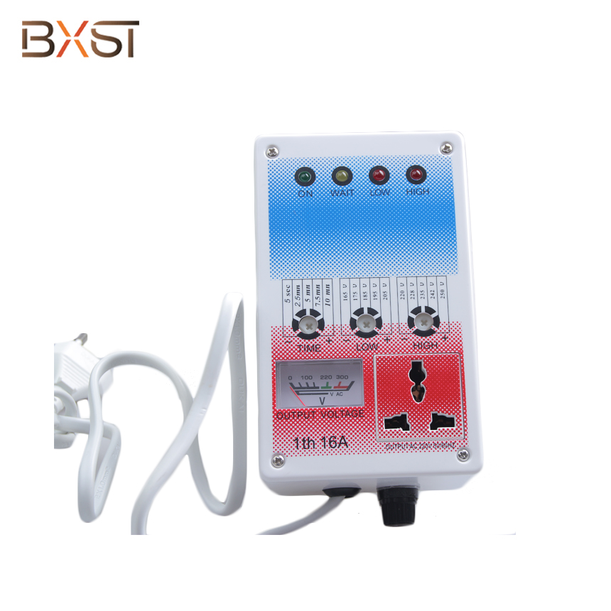 BX-V022-D European Plug General Socket Home Voltage Surge Protector and Regulator For Refrigerator And Air Conditioner