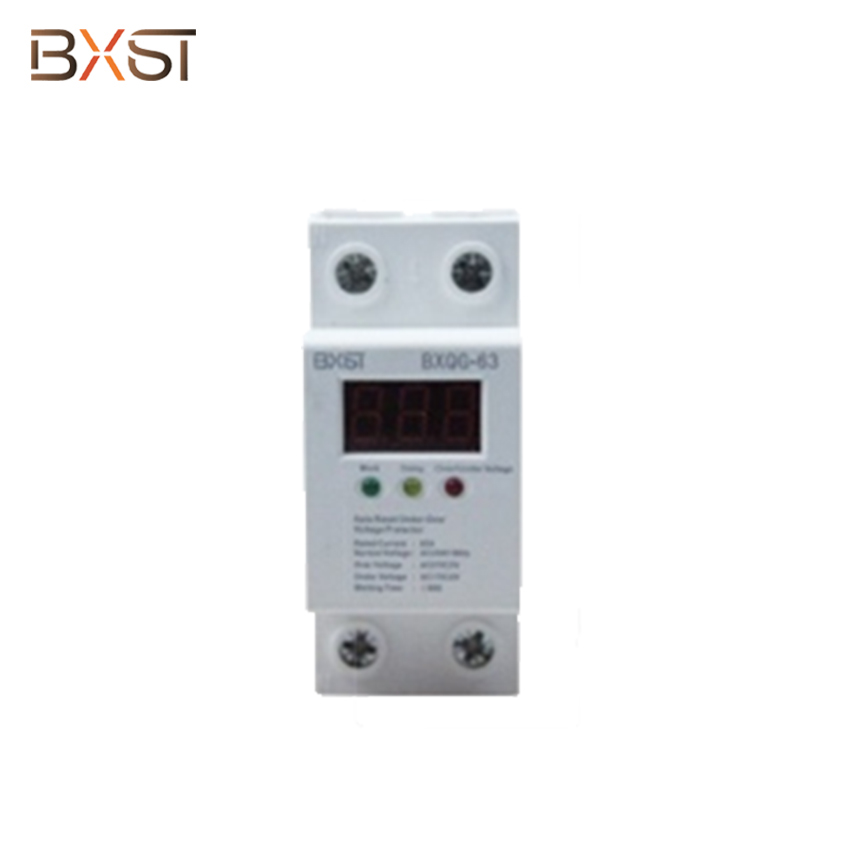 BX-V001 Wiring Single Phase Voltage Protector with Two Output and Two Input