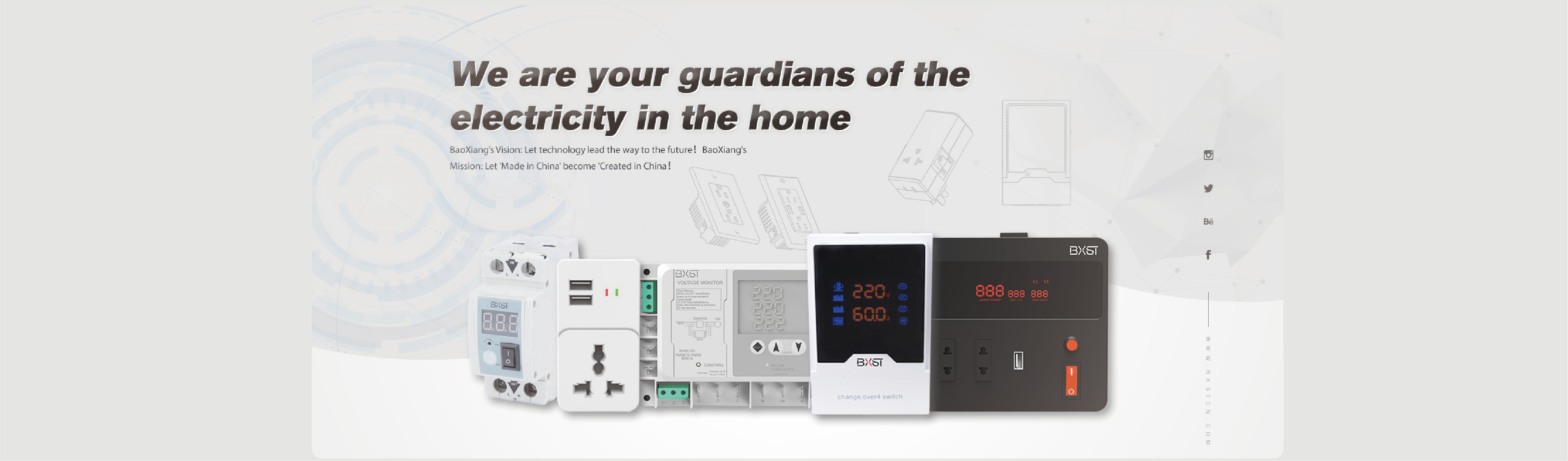 We are your guardians of the electricity in the home