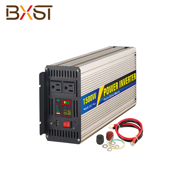 BX-IT002-1500W 1500W DC AC Single Phase Pure Sine Wave Inverter With LED Digital Display