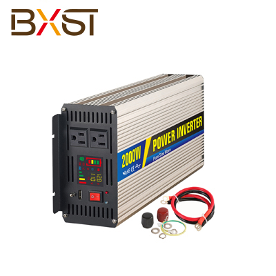 BX-IT002-2000W 2000W Pure Sine Ware Inverter With LED Digital Display