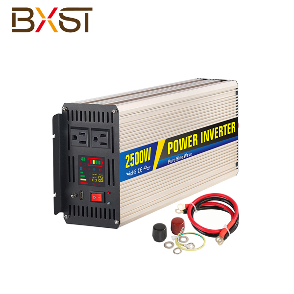 BX-IT002-2500W 2500W Pure Sine Ware Inverter With LED Digital Display