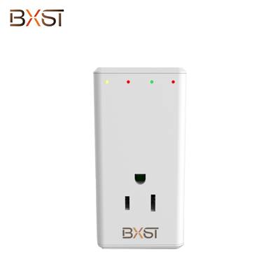BX-V157 120V/220V  350degrees Rotatable Plug Over-Voltage Protection 3 Kinds of Delay Protector with ETL Certification