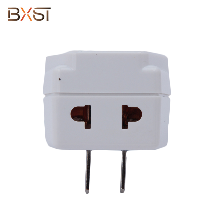 BX-V003-US USA Plug  13A Power Voltage Protector with Two Outlets and Adjustable Delay Time
