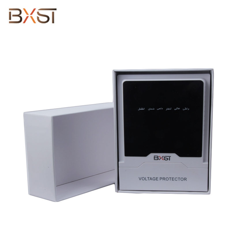BX-V112 Ground Wire Surge Voltage Protector with Indicator Light for Home Appliance Protection