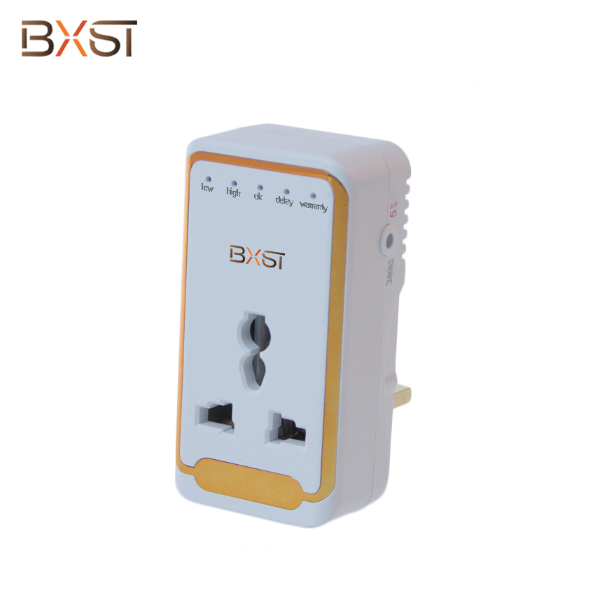 BX-V163 UK Electrical  Under Over Voltage Protector with Indicator Light for Home