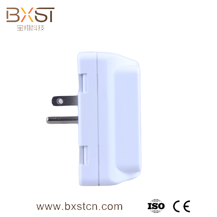 BX-V071 USA Plug Three Outlets 110V Power Voltage Protector with Warranty Lamp