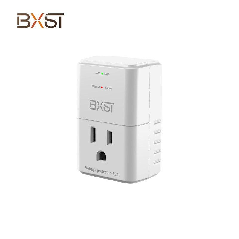 BX-V199 120V Automatic Voltage Protector With Power On Delay With 918J Surge Protection