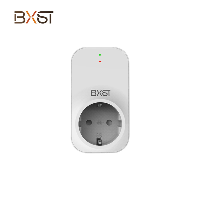 BX-V211 918J EU Socket Smart Voltage Relay Protector Lightning Switch