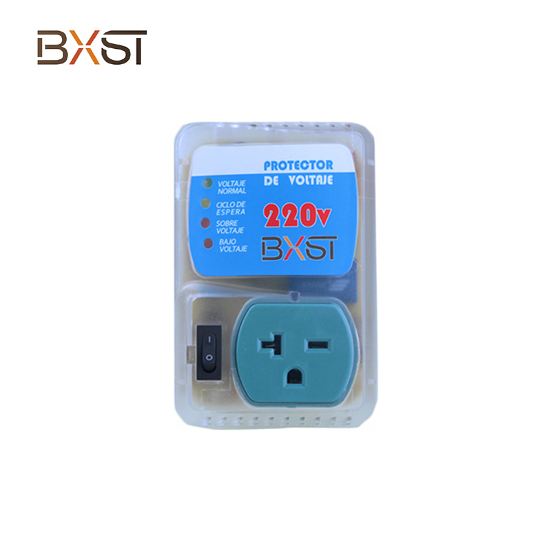 BX-V010-220V US 20A Under Voltage Adjustable Automatic Voltage Protector with Switch