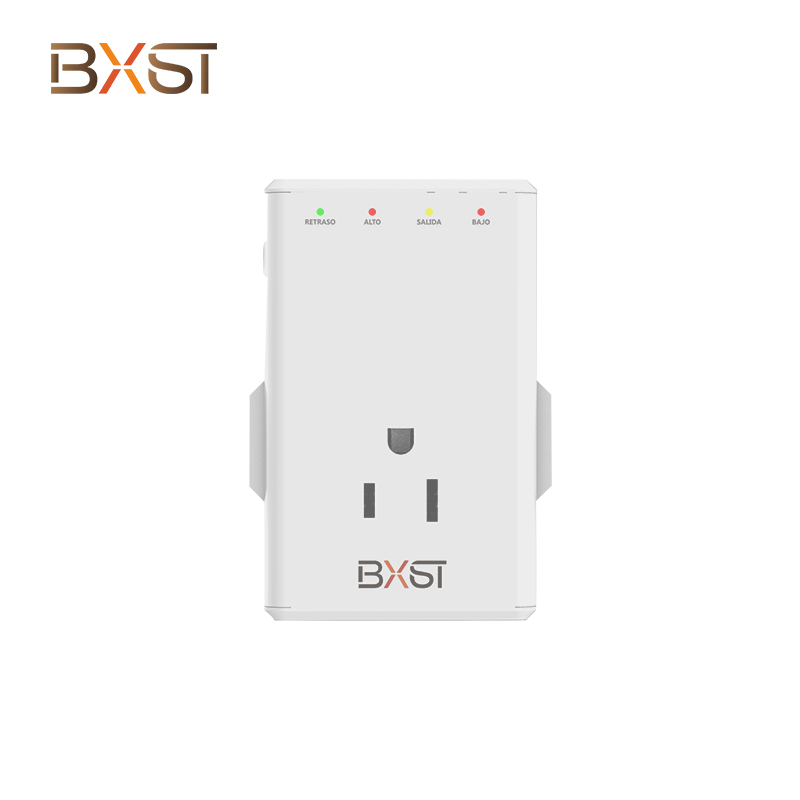 BX-V160 120V PC Material Plug Can Be Rotated 350 Degrees with 4 Power Sockets Automatic Voltage Protector